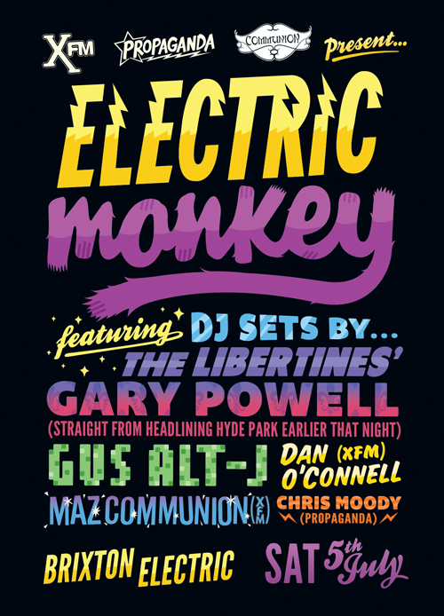 Electric Monkey July 2014
