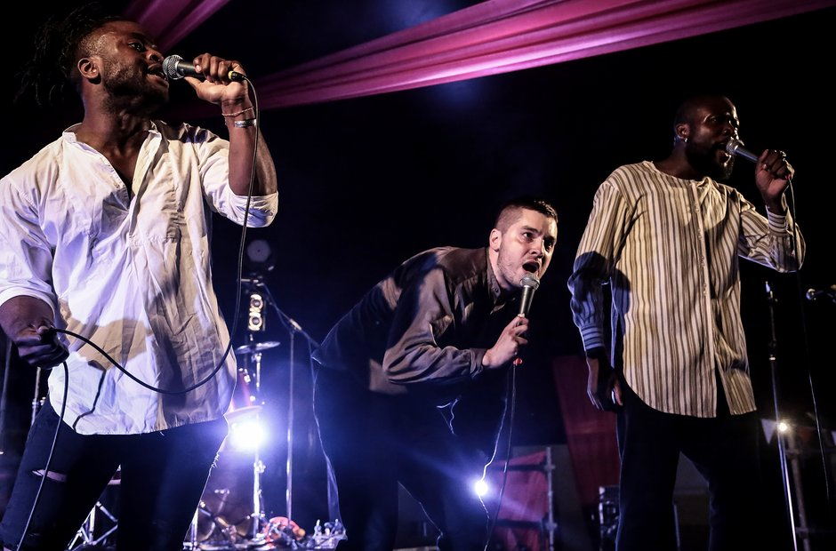 Young Fathers Latitude 2014