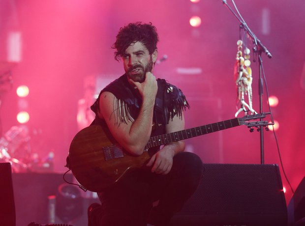 Foals at Bestival 2014