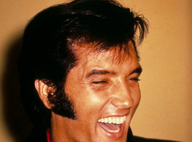 Elvis Laughing