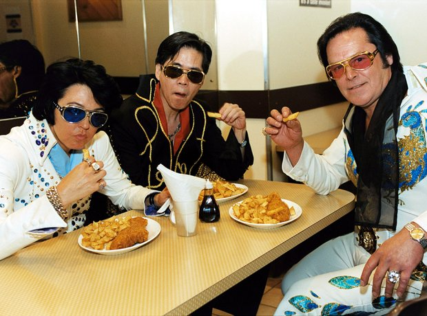 Elvis Presley Impersonators Chips