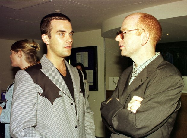 Alan McGee Robbie Williams