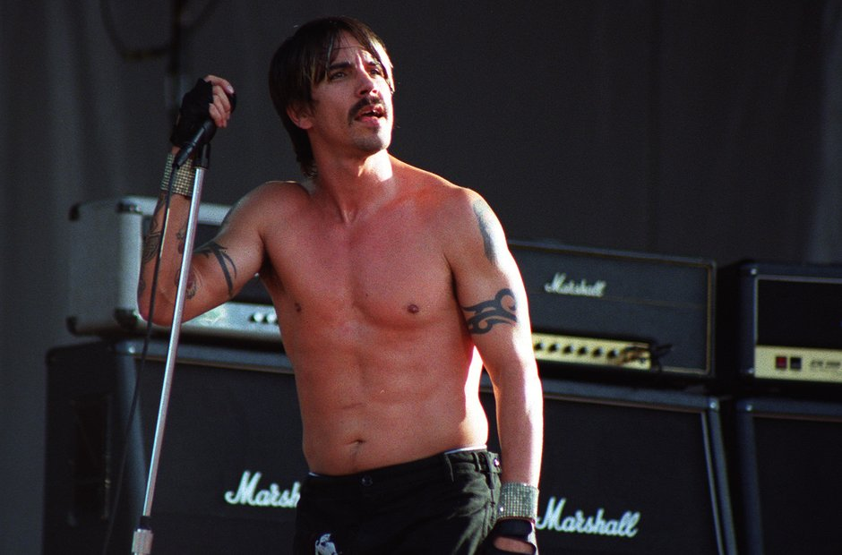 Red Hot Chili Peppers Slane Castle