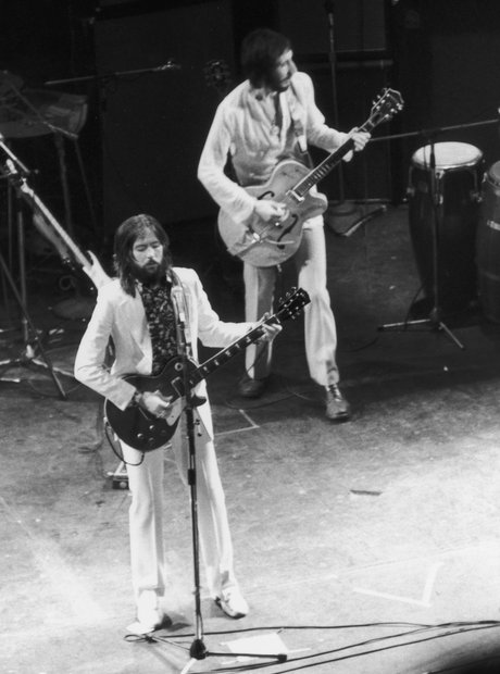 Pete Townshend of The Who, and Eric Clapton perfor
