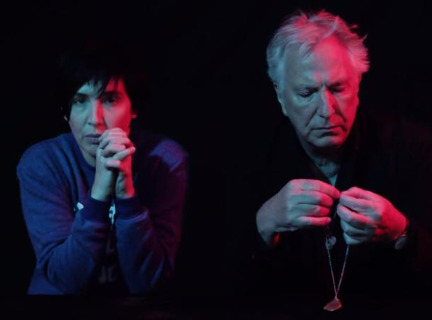Sharleen Spiteri and Alan Rickman