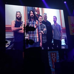 Foo Fighters NME Awards 2015