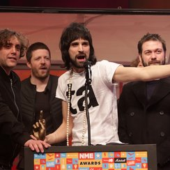 Kasabian at NME Awards 2015