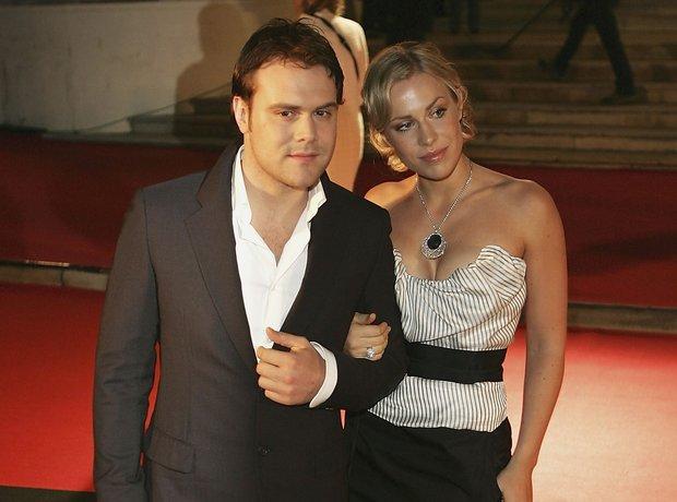 Daniel and Natasha Bedingfield at the BRIT Awards