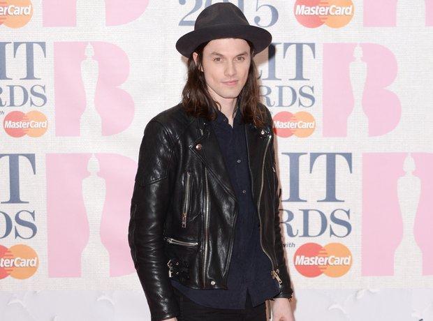 James Bay arrives at the Brit Awards 2015