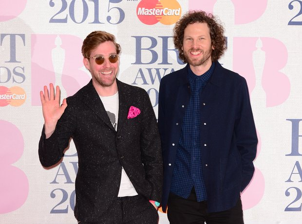 Ricky Wilson and Simon Rix BRIT Awards Red Carpet