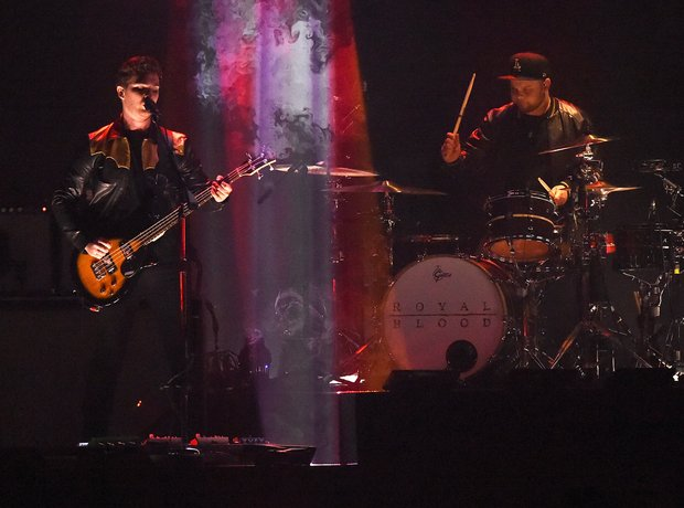 Royal Blood BRIT Awards 2015 Performace
