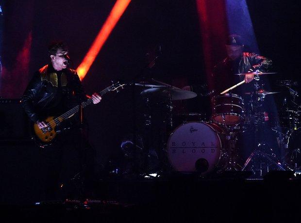 Royal Blood BRIT Awards 2015 Performace