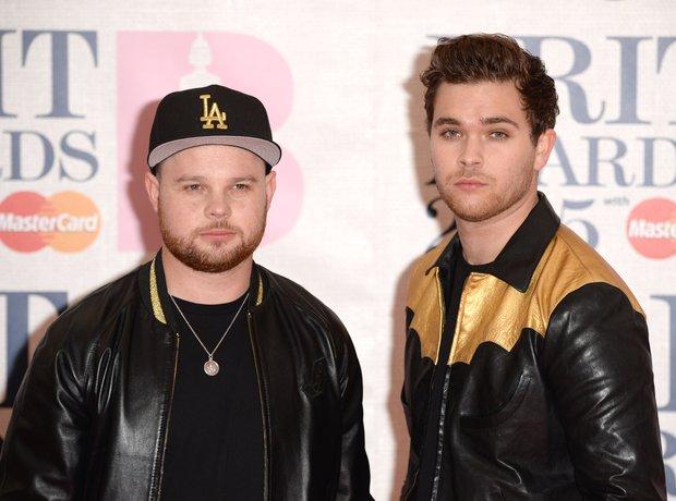 Royal Blood BRIT Awards Red Carpet 2015