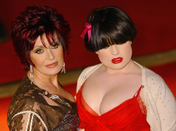 Sharon and Kelly Osbourne at the BRIT Awards