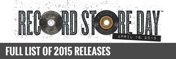 Record Store Day 2015 releases