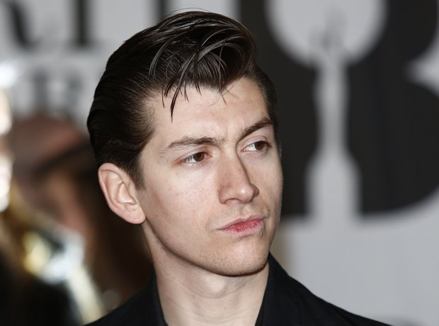 Alex Turner BRIT Awards 2014