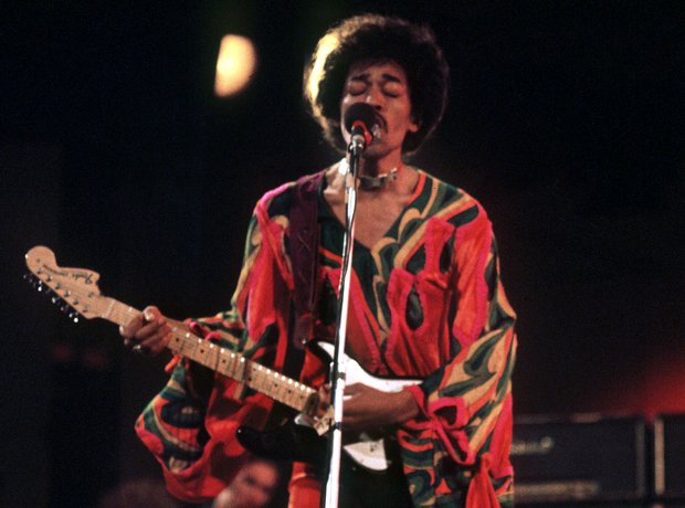 Jimi Hendrix Isle of Wight 1970
