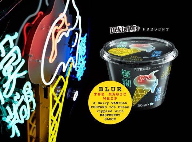 Blur Magic Whip ice cream