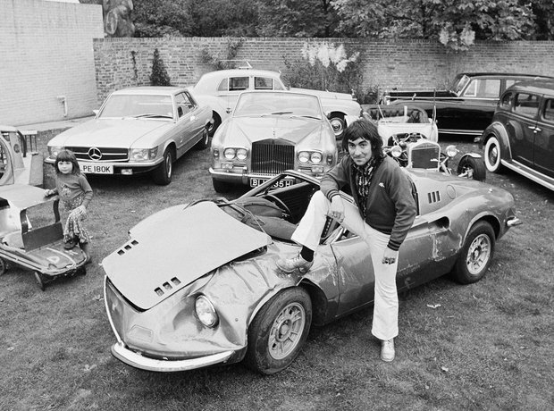Rock Stars and their Cars