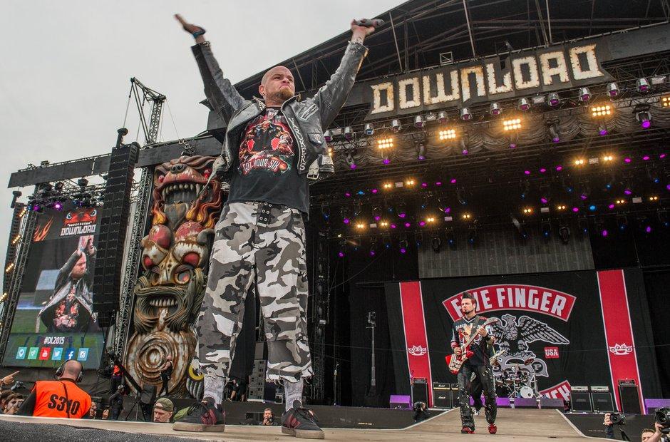 Five Finger Punch At Download Festival 2015