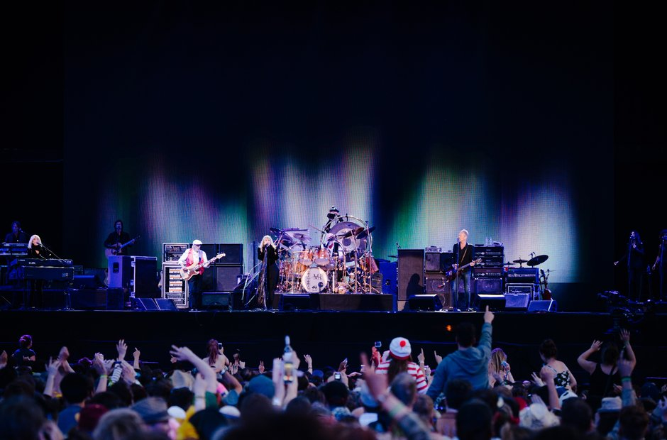 Fleetwood Mac at Isle Of Wight Festival 2015
