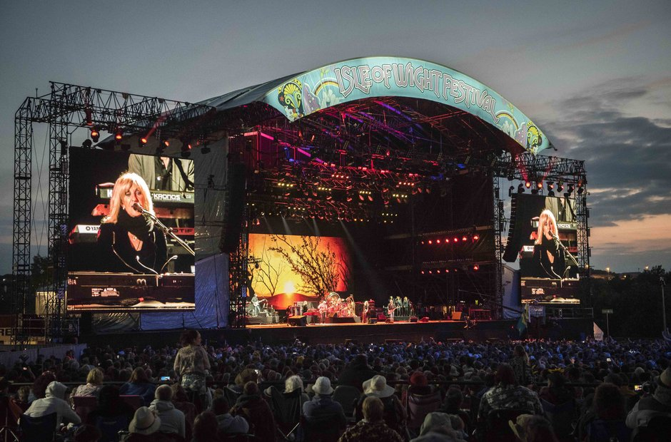 Fleetwood Mac at Isle Of Wight Festival 2015