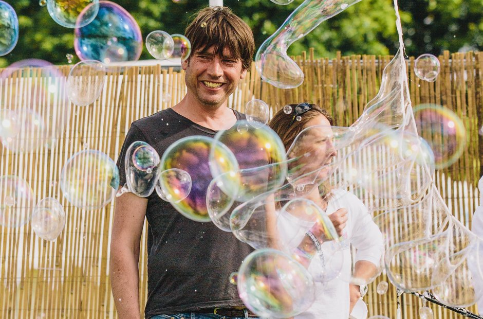 Alex James at Isle Of Wight Festival 2015