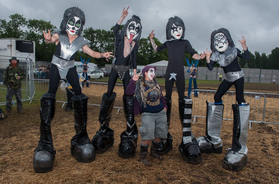 KISS at Download Festival 2015
