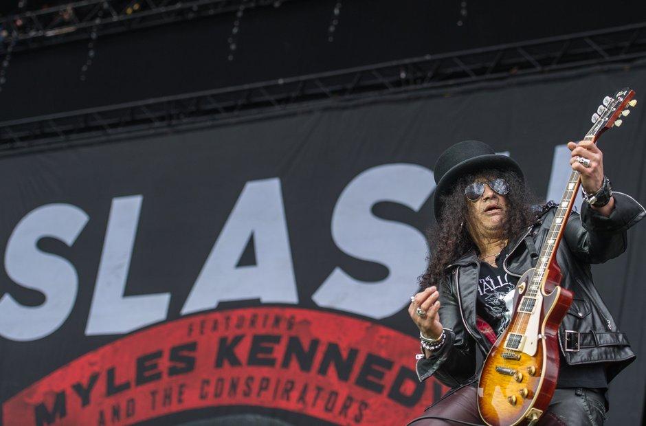 Slash at Download Festival 2015