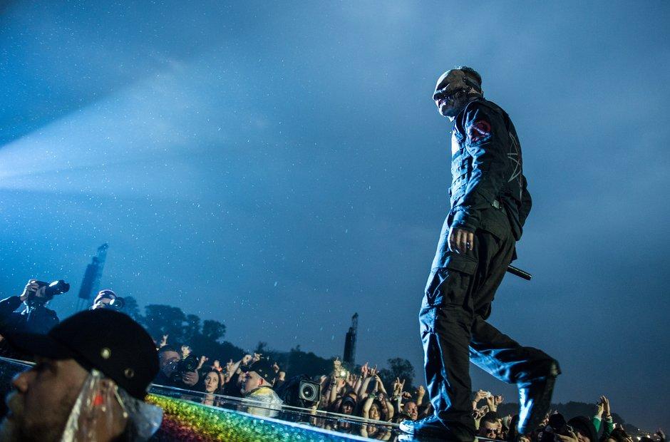Slipknot at Download Festival 2015