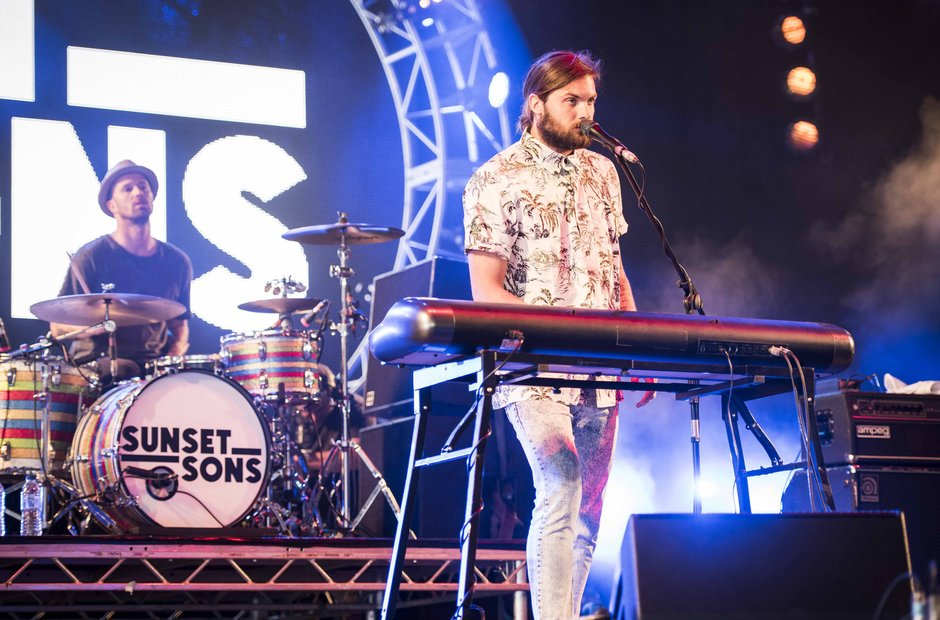 Sunset Sons - Isle Of Wight Festival 2015