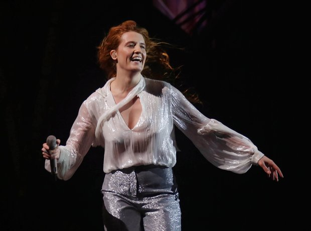 Florence And The Machine at Glastonbury 2015