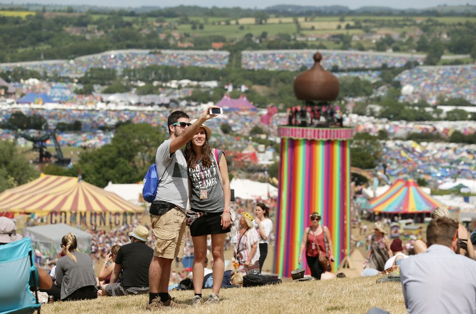 Glastonbury 2015 Saturday - The Park Stage