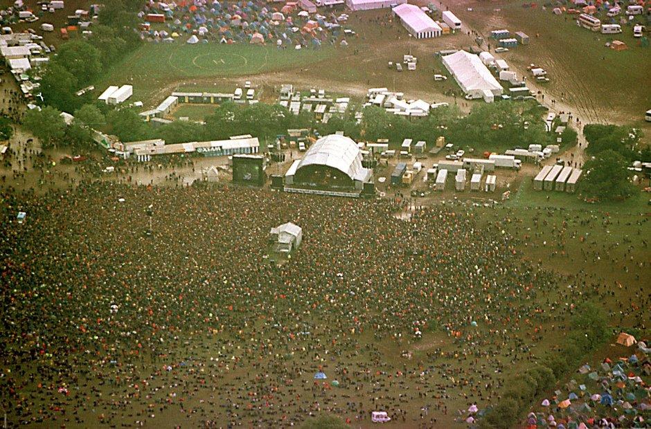 Glastonbury mud 1997