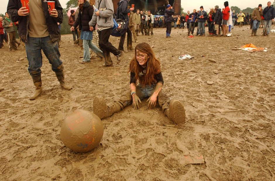 Glastonbury mud 2004