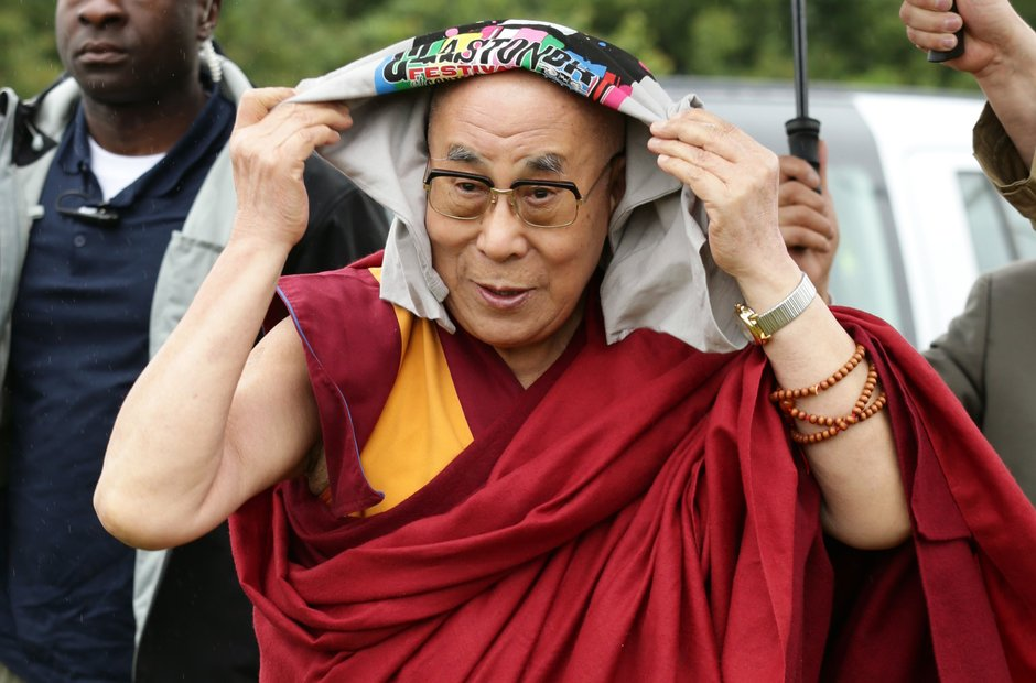 Glastonbury 2015 Sunday - Dalai Lama