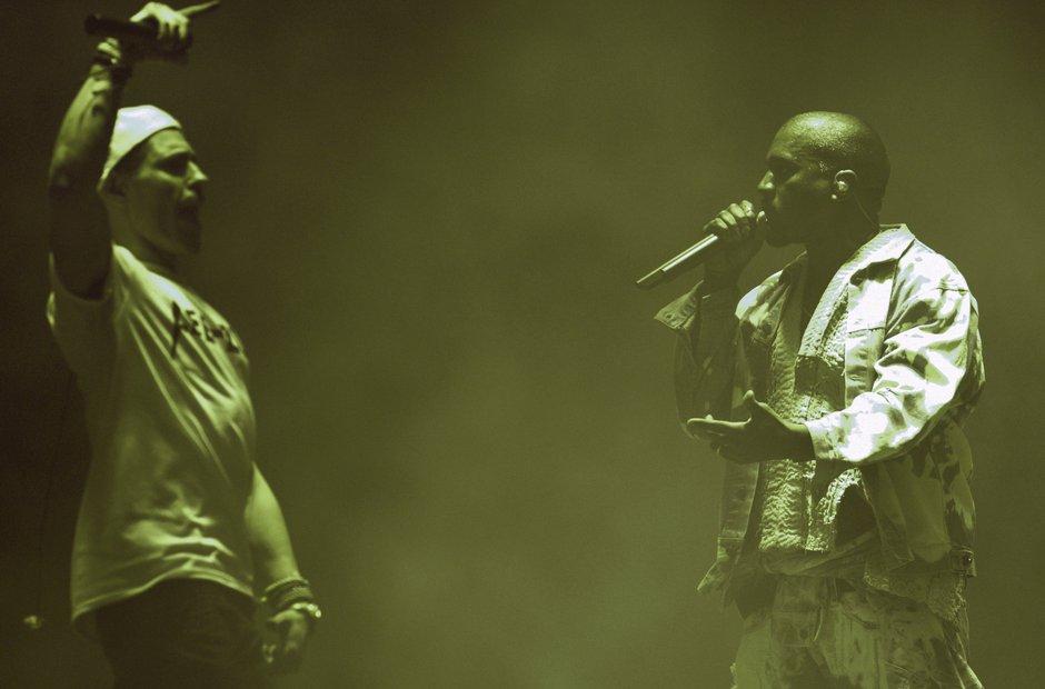 Lee Nelson Kanye West Glastonbury 2015