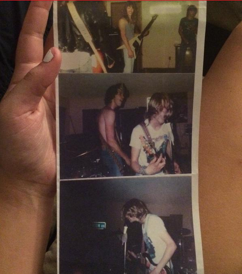 Nirvana First Gig