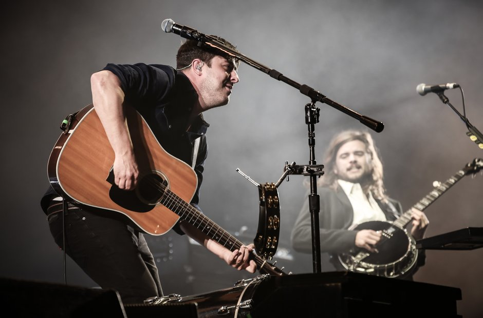 Mumford And Sons live at Reading Festival 2015 Fri