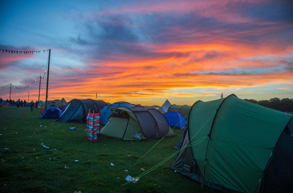 Leeds Festival 2015 Saturday landscape
