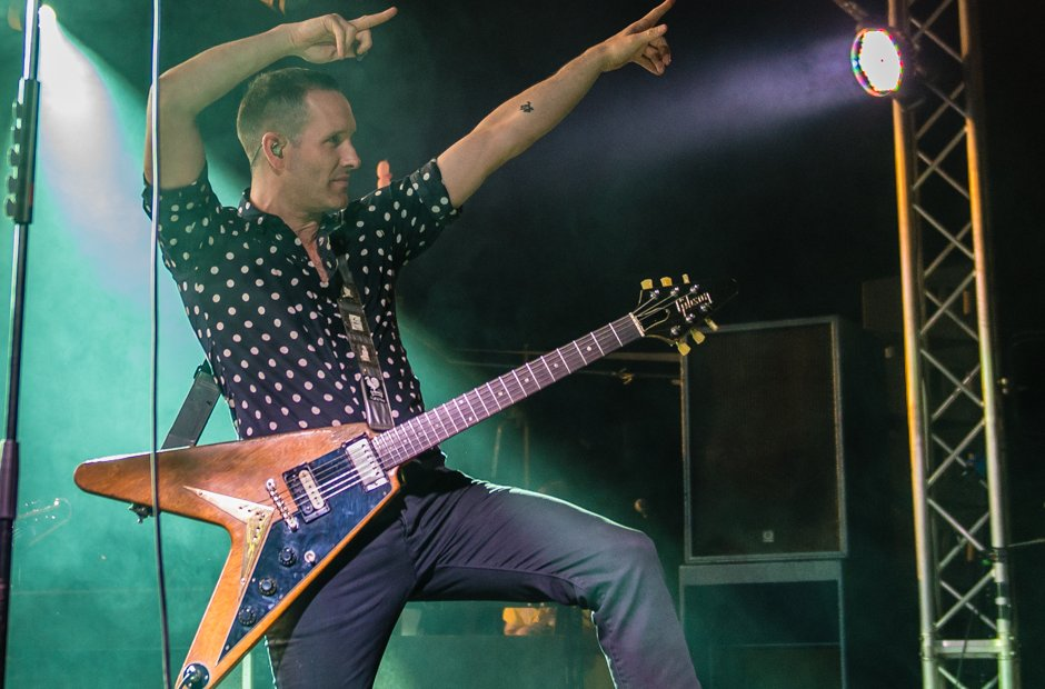 Leeds Festival 2015 Sunday - Tim Wheeler of Ash