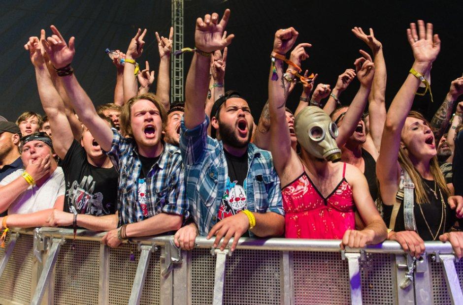 Leeds Festival Saturday Crowd