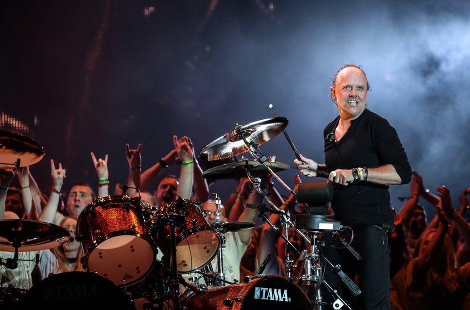 Reading Festival 2015 Saturday - Lars Ulrich of Me