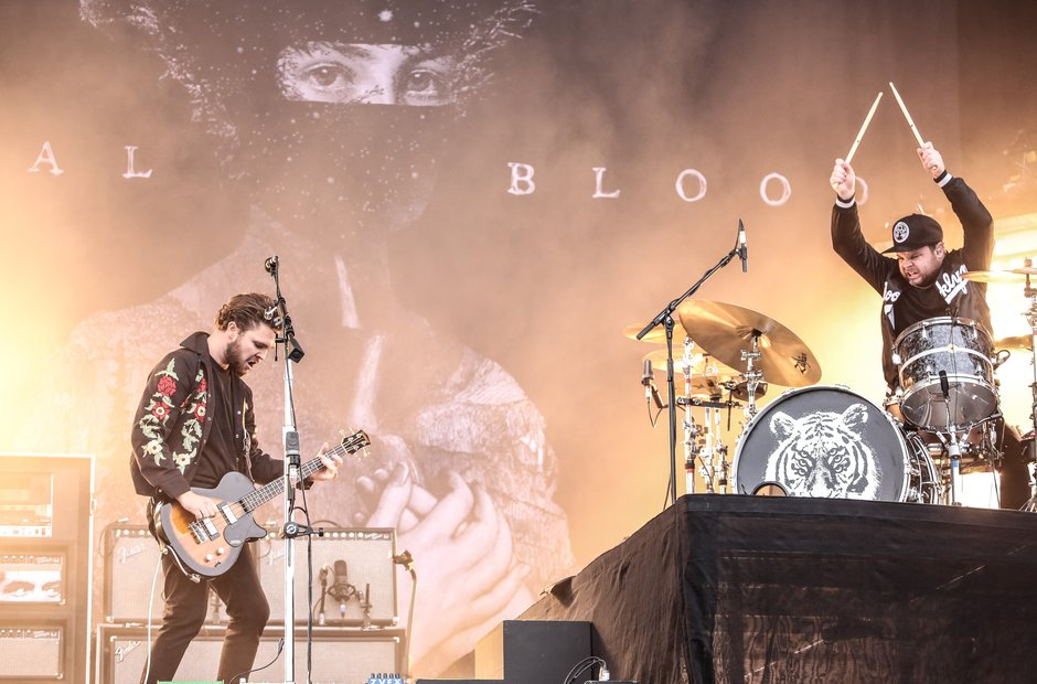 Royal Blood at Reading Festival 2015