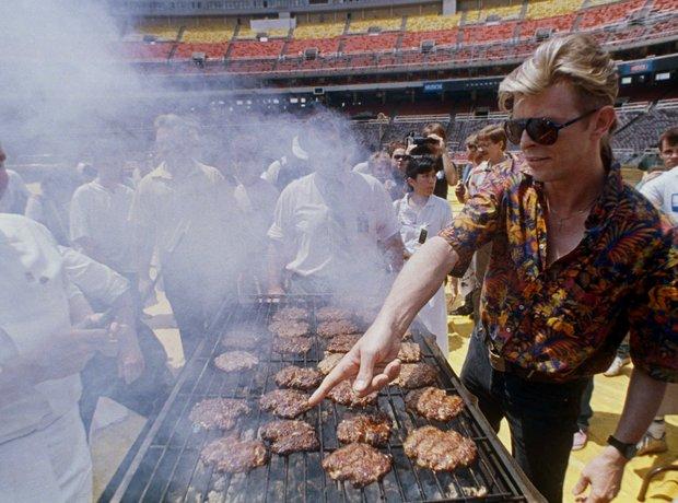 David Bowie Hamburger Tour