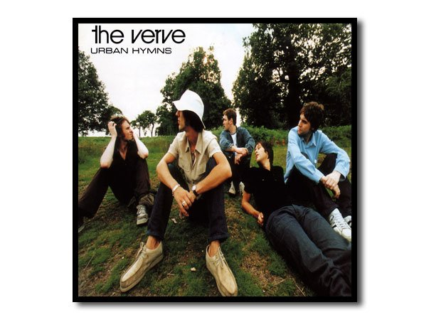 The Verve Urban Hymns artwork