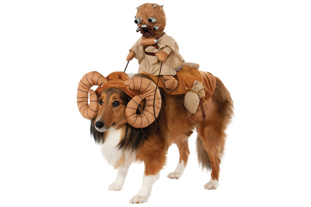 Bantha Dog Fancy Dress Costume