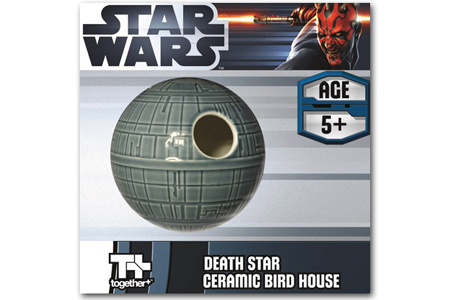 Death Star Ceramic Bird House