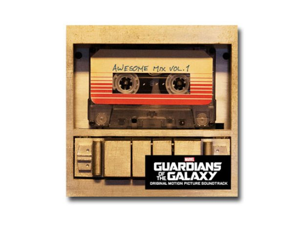 Guardians of the Galaxy soundtrack artwork Best So