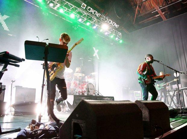 Bloc Party performing Radio X Road Trip 2015